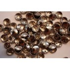 Metal Cover Buttons - Nickel 11mm - 100 Box