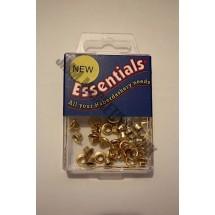 Essential Eyelets - 3mm - Brass