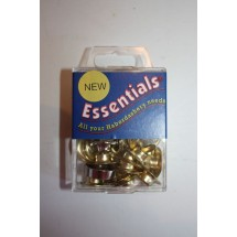 Essential Eyelets - 9mm - Brass