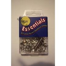 Essential Eyelets - 3mm - Nickel