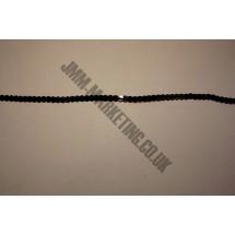 Ribbon Sequins - Black