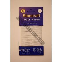 Darning Wool - White