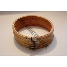 """Round Embroidery Frame - Wooden - 8"""" - 6 Pack"""