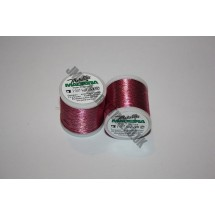 Maderia Metallic Embroidery Thread - Coral