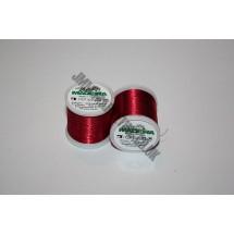 Maderia Metallic Embroidery Thread - Ruby