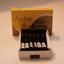 Anchor Cotton a Broder - Black (403)