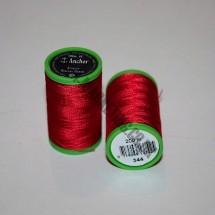 Alcazar Machine Embroidery 200m - Scarlet