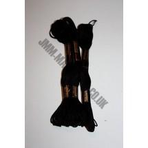 Trebla Embroidery Silks - Black (420)