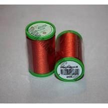 Alcazar Machine Embroidery 200m - Bright Sienna