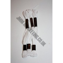 Trebla Embroidery Silks - White (415)