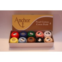 Anchor Perle Cotton - No 8 - Assorted Pack