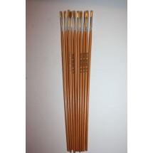 Nylon Brushes Round Fitches - Size 4