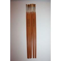 Nylon Brushes Round Fitches - Size 6