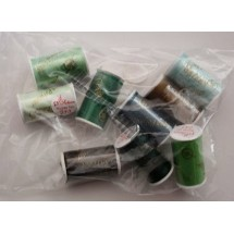 Lesur 100m Colour Pack Greens - Half Pack