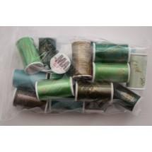 Lesur 100m Colour Pack Greens - Full Pack