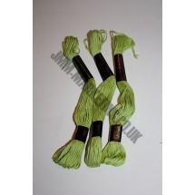 Trebla Embroidery Silks - Green (207)
