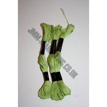 Trebla Embroidery Silks - Green (208)