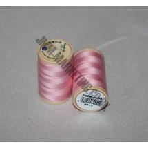 Coats Coloured 100 % Cotton Thread - Pink