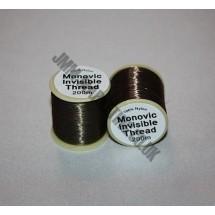 Lesur Merlin Clear Thread 200m - Smoked