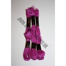 Trebla Embroidery Silks - Cerise (610)