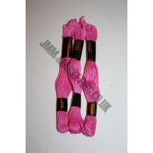 Trebla Embroidery Silks - Pink (402)