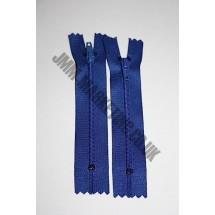 "Nylon Zips 4"" (10cm) - Royal Blue"