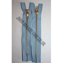 """Jean Zips 6"""" (15cm) - Sky Blue"""