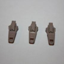 YKK Continuous Zip Sliders - Beige - 100 Pack