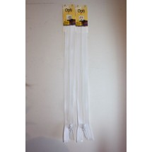 "Basque Zips 10"" (25cm) - White"