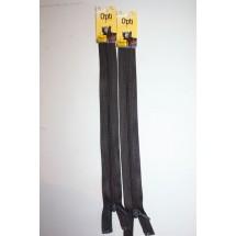 """Basque Zips 10"""" (25cm) - Khaki"""