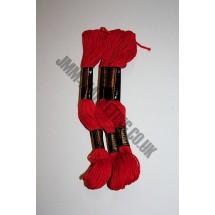 Trebla Embroidery Silks - Red (119)