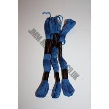 Trebla Embroidery Silks - Blue (513)