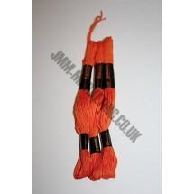 Trebla Embroidery Silks - Orange (108)