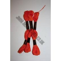 Trebla Embroidery Silks - Orange (109)
