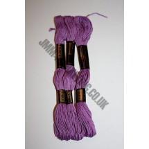 Trebla Embroidery Silks - Purple (730)