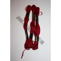Trebla Embroidery Silks - Burgundy (869)