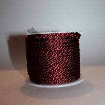 Crepe Cord - Burgundy - Roll Price (338)