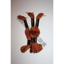 Trebla Embroidery Silks - Brown (216)