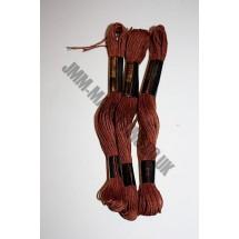 Trebla Embroidery Silks - Brown (812)