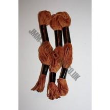 Trebla Embroidery Silks - Brown (926)