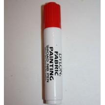 Dylon Colourfun Fabric Pens - Red
