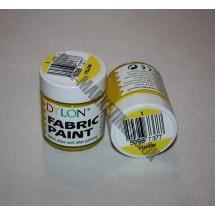 Dylon Colourfun Fabric Paints 25ml - Yellow