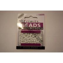 E Beads - White