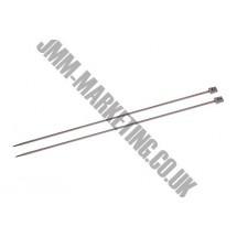 Knitting Needles - 30cm - 8.00mm