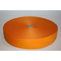 """Polyester Webbing 1"""" (25MM) - Golden Yellow - Roll Price"""
