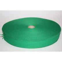 "Polyester Webbing 1"" (25MM) - Emerald Green"