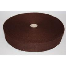 "Polyester Webbing 1 1/2"" (37MM)  - Brown - Roll Price"