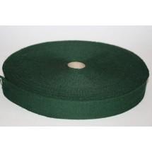 "Polyester Webbing 1 1/2"" (37MM) - Bottle Green - Roll Price"