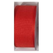 """Seam Binding Tape - 25mm (1"""") - Red (145)"""