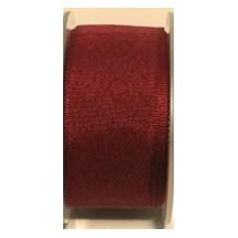 """Seam Binding Tape - 25mm (1"""") - Burgundy (148)"""